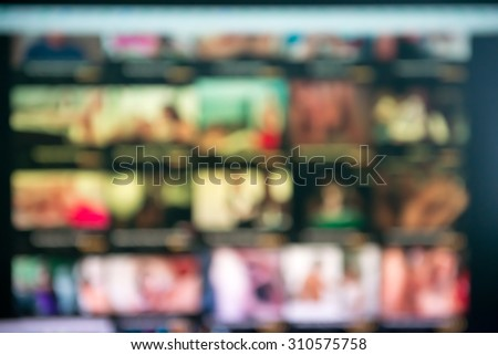 xxx porn site theme creative abstract blur background with bokeh effect - stock photo