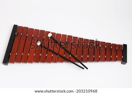 Xylophone - stock photo