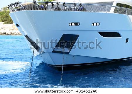 Yacht - stock photo