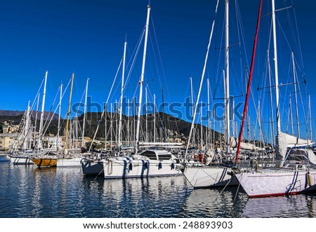 Yacht Club at day light, Provence