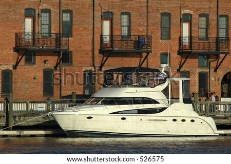Yacht Parking - stock photo
