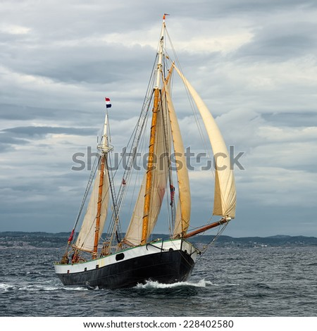 Yachting. Sailing regatta - stock photo