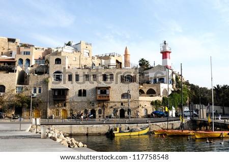Yafo,Tel Aviv ,Israel - stock photo