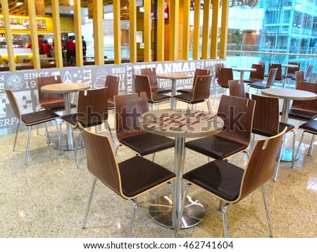 Modern Furniture Yangon vector illustration interior modern coffee shop stock vector