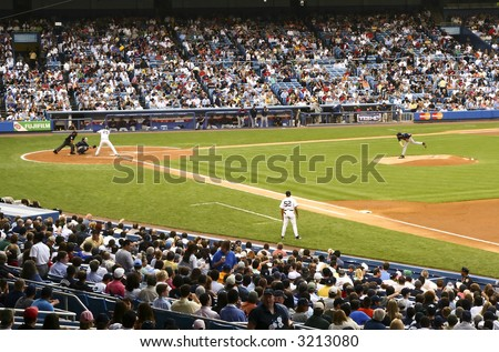 Yankees stadium - stock photo