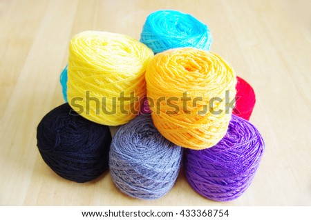 Yarns for knitting