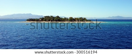Yasawa Islands Fiji - stock photo