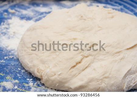 Yeast Dough - stock photo