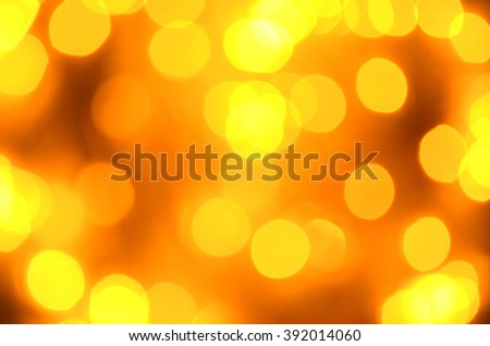 Yelllow bokeh textures