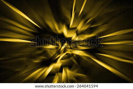 Yellow Abstract - stock photo