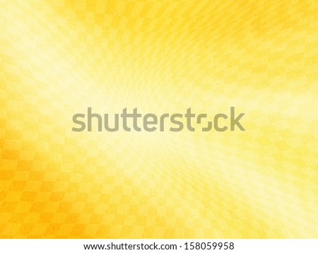 yellow abstract  curve background on paper texture  - stock photo