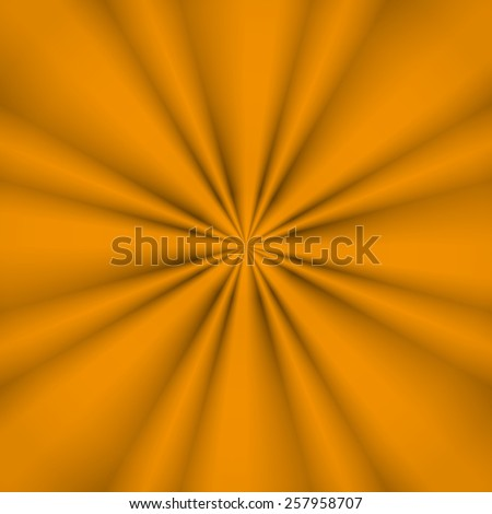 Yellow abstract rays concept generated
