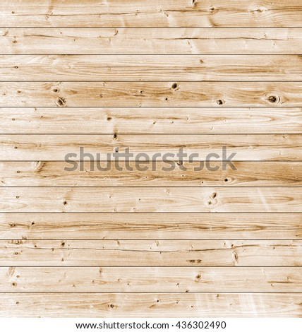Yellow aged wood texture background - stock photo