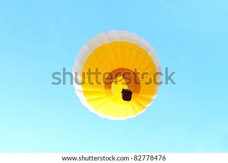 yellow Air Balloons - stock photo