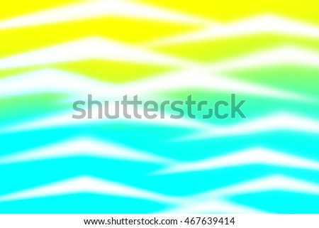 Yellow and blue blend to create abstract background