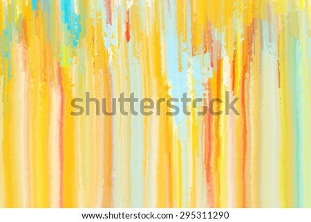 yellow and colorful abstract painting/yellow and colorful abstract/yellow and colorful abstract painting for background
