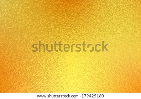yellow and orange Abstract architecture background. 3d render - stock photo