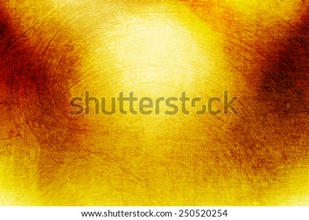 yellow and orange grunge abstract background - stock photo