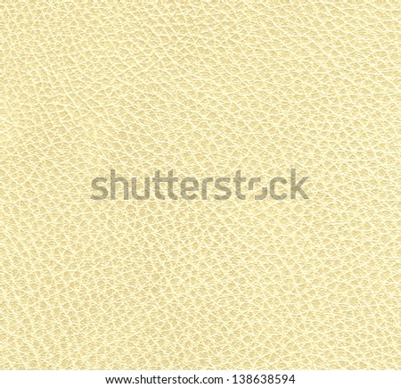 Yellow animal leather, background - stock photo