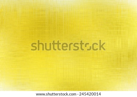 Yellow background linen texture, festive background for advertisement, wrapping paper, label, Valentine's Day, greeting card, scrapbook, wedding invitation etc - stock photo