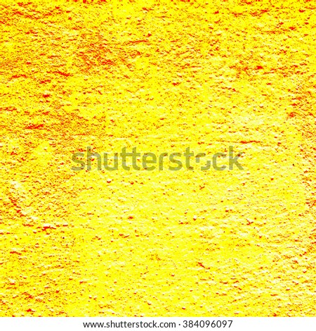 yellow background texture cement wall