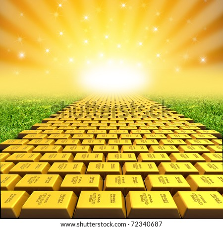 Gold Brick Stock Photos Images Amp Pictures Shutterstock