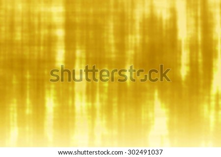 Yellow bright background abstract with reflection