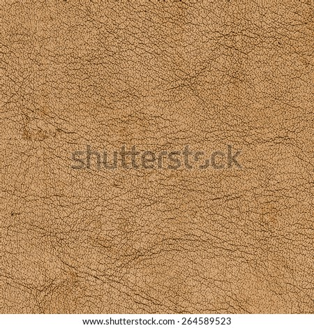 yellow-brown leather texture