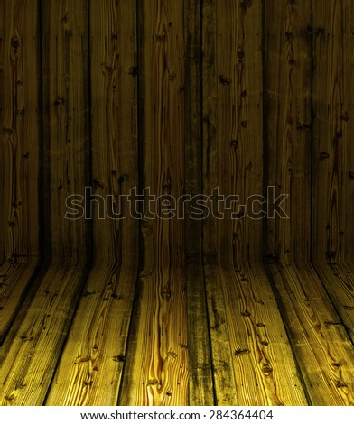 yellow colored Old Wood texture background