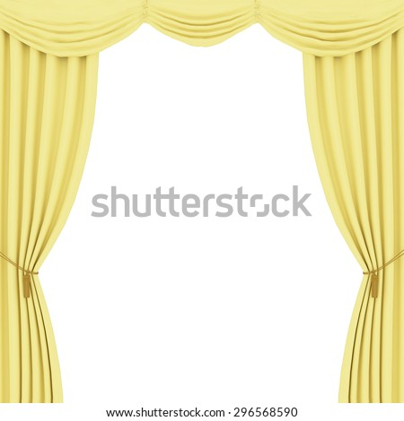 Curtains Ideas curtains background : Gold Curtain Background Stock Vector 138829223 - Shutterstock