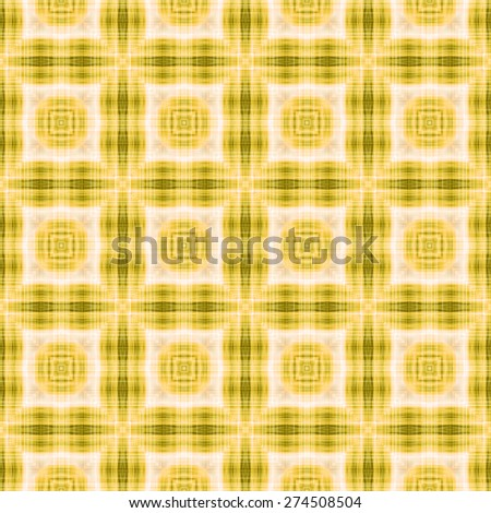 yellow Decorative seamless pattern in ethnic geometric style - stock photo