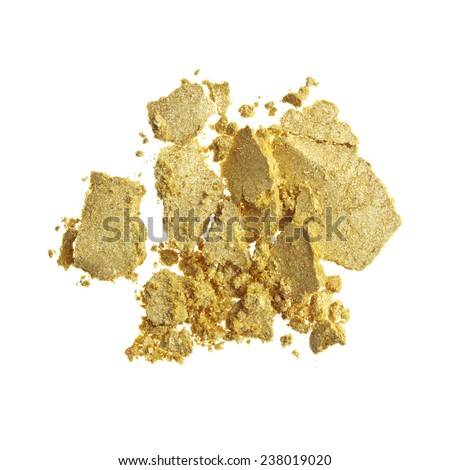 Yellow Eyeshadow - stock photo