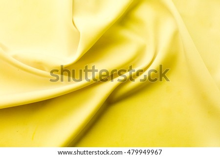 yellow fabric texture background ,wavy fabric