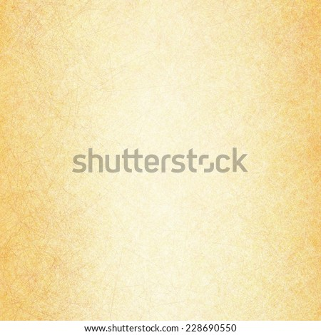 yellow gold background with textured linen or canvas line brush strokes in fine detail random pattern - stock photo