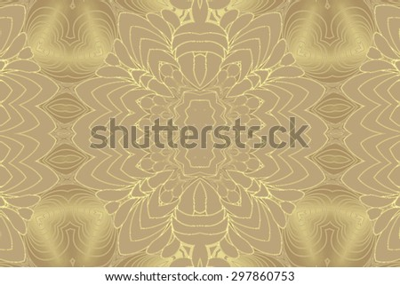 Yellow golden abstract   background for  design