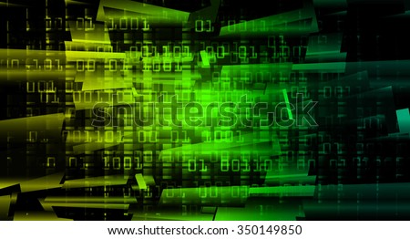 yellow green Light Abstract Technology background for computer graphic website internet and business. circuit. illustration. digital. infographics. binary code. www.pixel. scan virus
