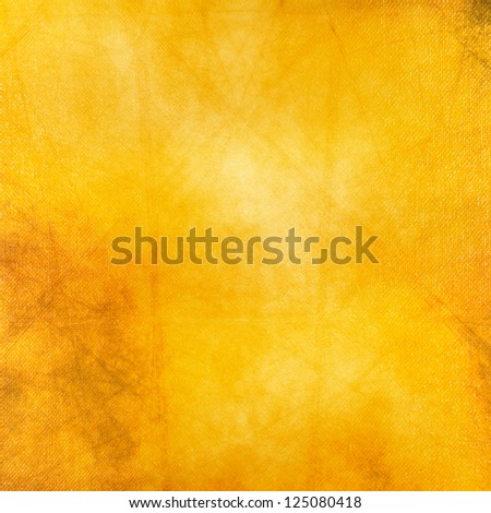 Yellow Grunge Background,Mix Media - stock photo