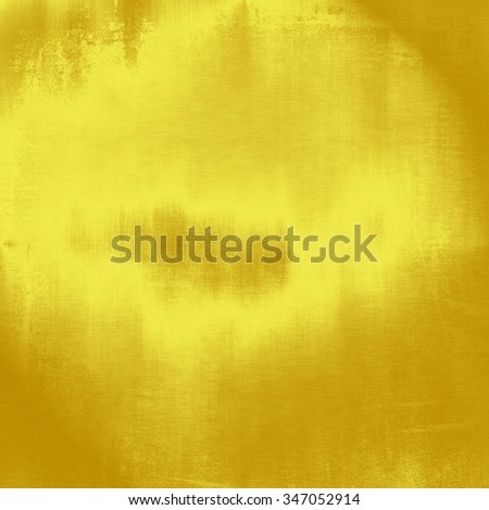 yellow grunge background old canvas texture wall paper pattern - stock photo