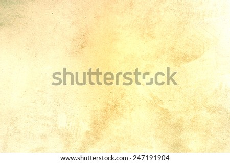 yellow grungy scratched texture - stock photo