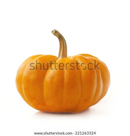 yellow halloween pumpkin