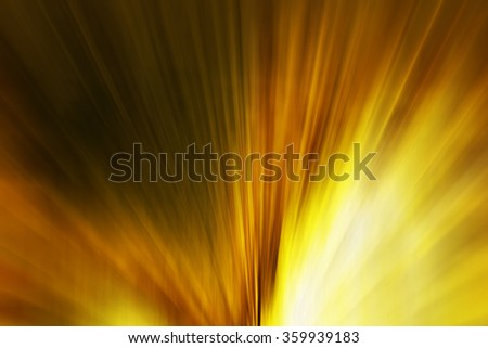 yellow light blur style abstract background