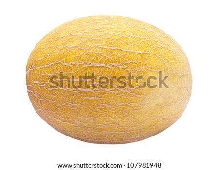 Yellow Melon - stock photo