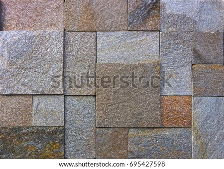 yellow natural stone facade wall tiles texture