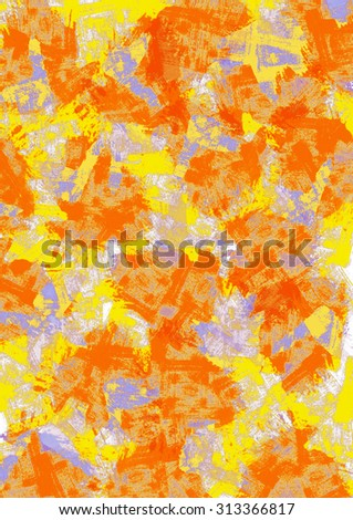 yellow orange blue abstract background