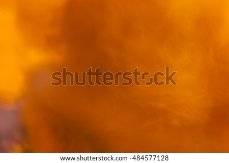 Yellow orange blurred abstract background
