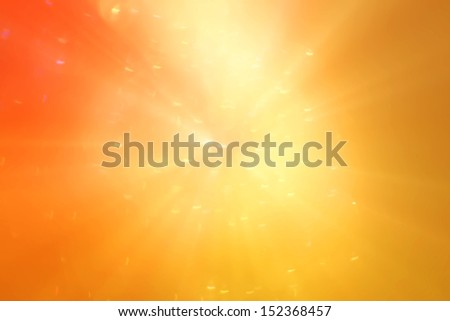 yellow-orange with a red abstract background