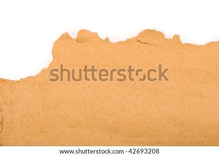 Yellow paper background - stock photo