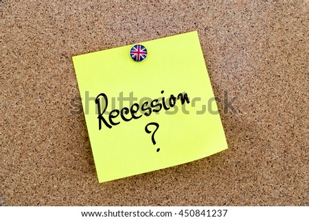 thesis on recession