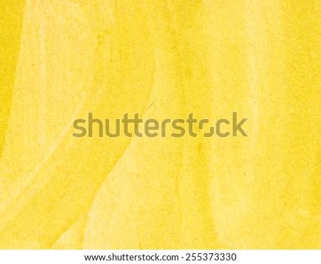 yellow paper texture - stock photo