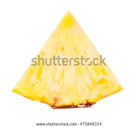 Yellow Pineapple Slice